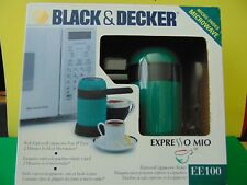 Black & Decker EE100 Cool Touch Microwave Expresso Maker New & Sealed