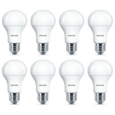 8x Philips LED Frosted E27 100w Warm White Edison Screw Light Bulbs Lamp 1521lm