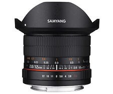 Samyang 12mm F2.8 Ed as NCS Full Frame Fisheye Lens Canon EF Mount Ca2706