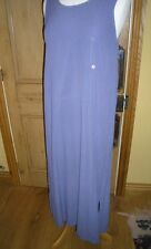 LILAC COLOURED GHOST DRESS, SIZE SMALL, 100% VISCOSE, LONG LENGTH SUMMER WEAR