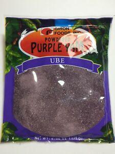 Purple Yam Ube Powder by Giron Foods 4.06oz