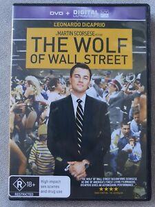 The Wolf of Wall Street(DVD, 2014)[+Scorsese's Goodfellas,Shutter Island,no art]