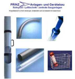 2 Punkt Rohrpost Rohrpostanlage Lagerrohrpost Probenrohrpost komplett NEU