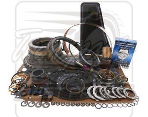 Fits Ford E4OD Transmission Deluxe Rebuild Kit 96-3/97 Level 2 +Transgo Fix 4WD