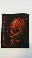 USED Sepultura Beneath 1990 metal RARE VINTAGE patch Sew On music USED