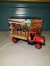Ertl  TEXACO Collector Truck Bank 1918 Mack AC Bulldog 1:34 Scale Die Cast