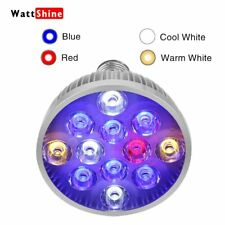 LED Aquarium Light Bulb 36W For Coral Reef Fish Tank LPS SPS Algae Red Blue Leds