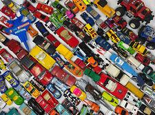 Mixed Lot of Hot Wheels Matchbox Loose Diecast & Plastic Cars Trucks Vehicles