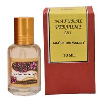 Natural Lily of the Valley Alcohol Free Vegan Ittar Perfume Oil 10ml (Pack of 3)