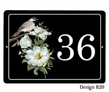 NEW OCTOBER DESIGNS Aluminium 7 x 5 inch Plaque/sign House,door name/number