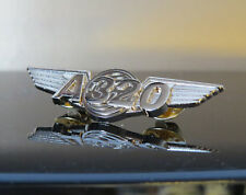 Airbus A320 WINGS Airbus gold for Pilot Crew uniform 55mm A 320 Wing Pin