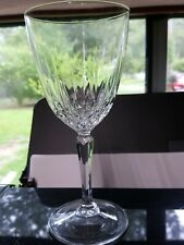 Luminarc Clear Cut Crystal Glass Pedestal Footed Stemware Wine Drinking Glass
