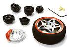 C26406GUNRED D5S Steering Wheel Set for Most HPI, Futaba, Airtronics, Hitec & KO