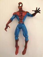 """Rare Toy Biz Year 1998 Marvel Spider-Man Sneak Attack Flip 'N Trap 6"""" Figure"""