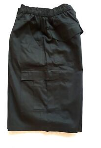 New 3XL Perfect Collection Black Cargo  Shorts