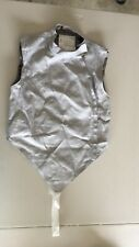 Absolute Fencing Gear Foil Lame Right Handed Side Zip Women Size Us 36 Euro 44