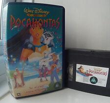 Pocahontas (Disney's 33rd animated classic) Disney VHS Video