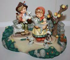 Goebel Hummel Tender Love & Frisky Friends Hum 2007 & 2008 Figurines