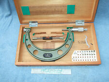Thread Micrometer 5 6 Mitutoyo 126 142 Withanvils Over 1200 When New Toolmaker