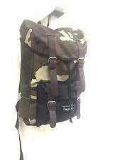 Camo Backpack Bag Back Pack Fashion Rucksack Drawstring Closure Day Bag School