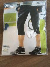 Men's Cycling Shorts Legging Size XL 46/48 New In Pack Black Crivit Sports