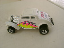 MATCHBOX SUPERFAST 69 WHITE '33 WILLY'S PRO STREET HOT ROD
