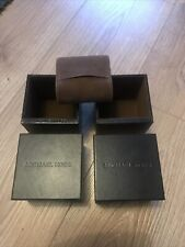 2 X Michael Kors Watch Boxes With 1 Cushion