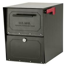 Lockable Post Mount Parcel Mailbox Oasis Classic Locking X-Large Stainless Steel