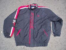 Vintage Starter Chicago Bulls NBA Black Basketball Jacket Coat Men's Size XLarge