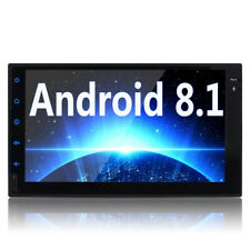 Android 8.0 Double Din Car Stereo Touchscreen FM/AM/RDS OBD2/Digital TV/DVR/DAB+
