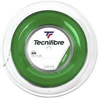 TECNIFIBRE 305 SQUASH STRING - 1.25MM - 200M REEL - GREEN - RRP £275