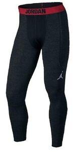 Nike 689801 Men's Jordan AJ Compression Shield Tight Pants Training $90 Tights