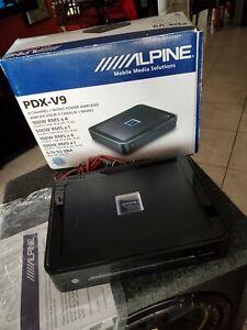 Alpine PDX-V9 900W 5-Channel Car Amplifier