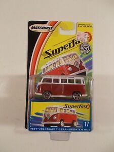 Matchbox Superfast #17 1967 Volkswagen Transporter Bus