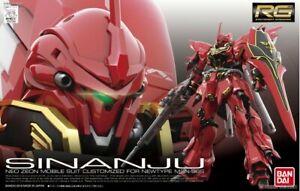 BANDAI RG 1/144 Gundam Plastic Model Kit MSN-06S Sinanju UC0096 unicorn AU STOCK