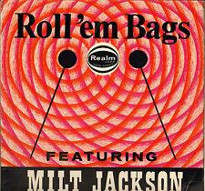 """MILT JACKSON / KENNY CLARKE """"ROLL 'EM BAGS"""" JAZZ 60'S LP REALM 156"""