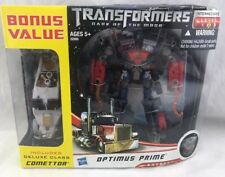 Transformers DOTM Voyager Class Optimus Prime Exclusive W/ Comettor MISB