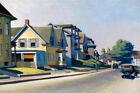 Sun on Prospect Street Gloucester Massachusetts Edward Hopper Art USA FREE S/H