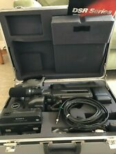 Sony Dsr-200 Digital Camcorder w/ aux. wide-angle lens, carry case, remote, cbls