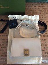 LANVIN Small Leather Box Cross Body Bag (BRAND NEW)