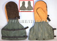 US Military N4B Arctic Extreme Cold Weather Mittens & Liner Set ECW Gloves NEW L