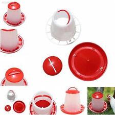 CE7D Auto Plastic Chicken Poultry Hen Drinker Food Feeder Waterer Pet Supply