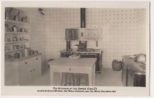 The Kitchen of The Swiss Chalet used by Queen Victoria RP Postcard, B715