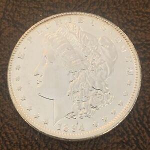 1894 O MORGAN SILVER DOLLAR ALMOST UNCIRCULATED R-85