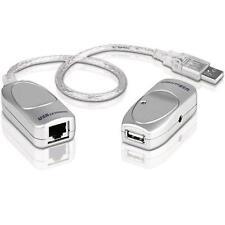 Aten USB Extender Auf Netzwerkkabel RJ45 Cat.5/5E/6 Bis 60m, UCE60-AT