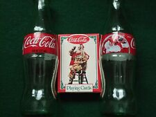Coca-Cola Advertising Items - Bottles and Playing Cards