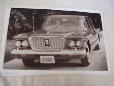 1960 PLYMOUTH VALIANT GREAT FRONT VIEW  11 X 17  PHOTO  PICTURE