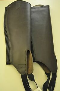 """Gaiters leather 'Horseabout"""" Brown size medium"""