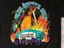 New listing Blue Oyster Cult Godzila vintage t shirt Rare