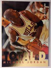 95-96 Michael Jordan Fleer TOTAL D Gold Foil Insert #3 - Chicago Bulls, HOF!